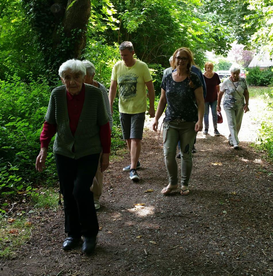 Unser Spaziergang im Boksbergwäldchen